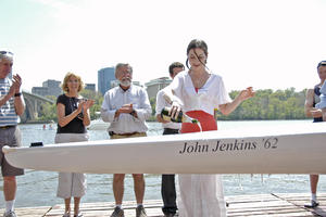 Christening of the John Jenkins '62
