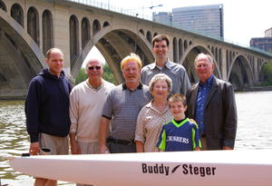 Christening of the Buddy Steger